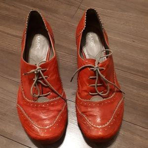 MARC SOFTWALK REAL GERMAN LEATHER LACE UP